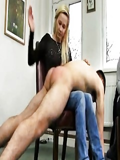 Hardcore otk femdom spankings